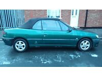 Peugeot 306 soft top looking for a metal detector
