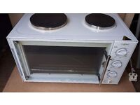 table top oven/grill/2 ring hob