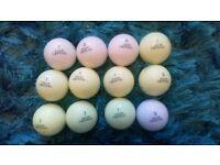 12 volvik crystal golf balls