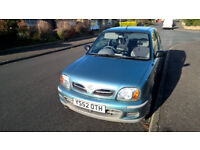 Micra for sale. Economical to run, good little runabout, low milage, reliable.