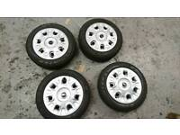 Mini one tyres and wheels