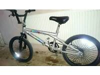 """Vertical bmx 20""""wheels, very good condition and working order, quick sale needed."""