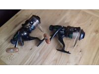 2 Big Pit fishing reels