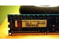 8GB (4X2GB) DDR3 RAM PC3 10600U
