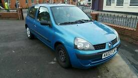 RENAULT CLIO 1.2 2002 ***LOADS OF MOT***READY TO DRIVE AWAY***VERY CLEAN CAR***
