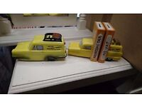 trotters independent trading van money box and book end,only fools and horses, del boy