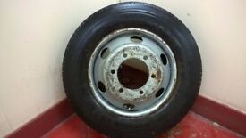Brand New LorryTyre 205/75 x 17.5 with wheel