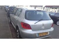Peugeot 307 car for sale
