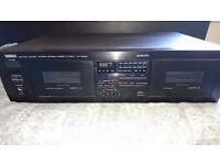 Yamaha KX-W282 Stereo Cassette Deck Player.