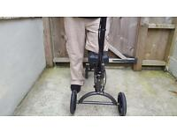 Knee walker mobility aid