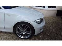 19inch; genuine bmw ac schnitzer wheels with good matching tyres £2000 a set new £500 plus yours