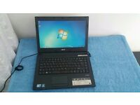 "AS NEW Acer Travelmate 8472T Laptop 14"" Intel Core i3 2.53 GHz 4GB RAM 250GB HDD Portable Tablet PC"