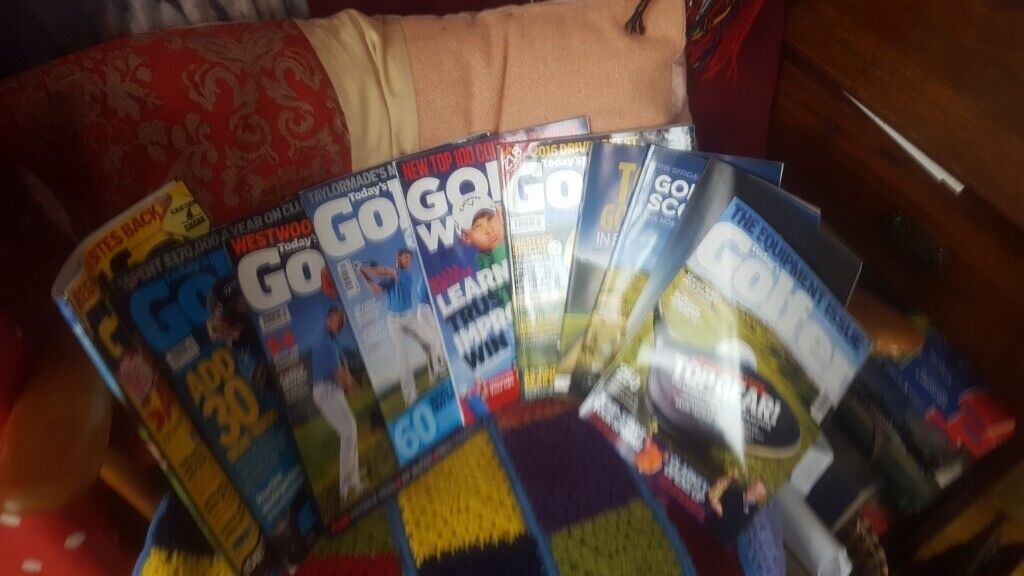 GOLF MAGAZINES [old ] Bundles of GOLF MONTHLY ,and TODAYS GOLFER  | in  Lisburn, County Antrim | Gumtree