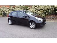KIA RIO WITH VERY LOW MILEAGE & BEST CONDITION. CAT D