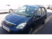 TOYOTA COROLLA VERSO 2002, WTI, MANUAL,1.6 PETROL,EXCELLENT CONDITION