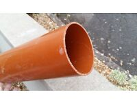 110mm Ground work soil pipe Offcut
