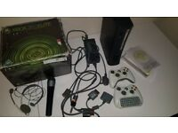 XBOX 360 Elite 120GB + 2 Controllers and much more!