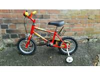 Child's Raleigh bike (age 3-5) - excellent condition
