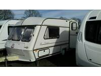 1994 ABI AWARD 2 BERTH CARAVAN WITH AWNING AND FITTED MOTOR MOVER