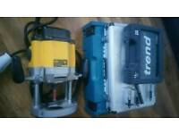 Dewalt 110v router power tool trend accessories makita box