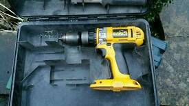 spares or repairs dewalt drill with box