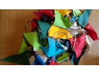 Wedding bunting- job lot