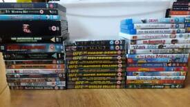 Dvds box sets and blu rays