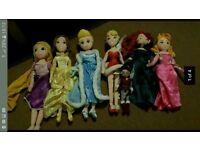 Disney store dolls