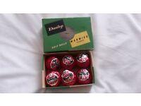 Vintage 1960s Golf balls