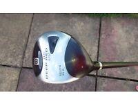 left handed golf club - wilson
