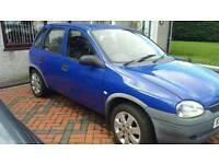 Vauxhall corsa b spares or repair
