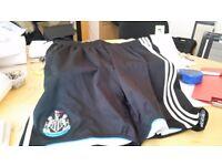 genuine NUFC shorts size medium