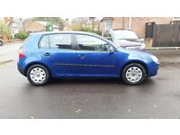 2004 VOLKSWAGEN GOLF 1.6 FSI S MANUAL BLUE 2 PREVIOUS OWNERS SERVICE HISTORY 12 MONTHS MOT