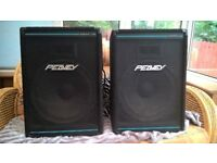 """2 X Speakers Peavey Eurosys3 (15""""+ Horn 300W) for PA/Disco or keyboard player"""