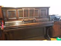 PIANO FOR SALE. 0ld fashioned Wagener wooden upright piano