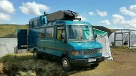 Mercedes 709 camper/campervan/motorhome/classic