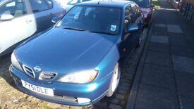 Nissan primera for sale, good reliable car.