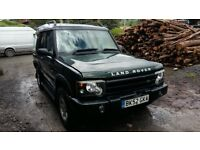 breaking green land rover discovery td5 lwb 4x4 parts spares manual