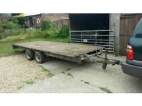 Ifor williams 16ft flatbed 3500kg