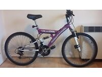 "Mountain bike 40 cm frame (18"") kids or small woman"