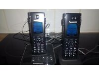 Panasonic KXDG digital cordless phone twin pack with answer phone.