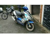 125 moped in christchurch not salisbury!