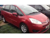 2010 10reg Citroen C4 Picasso 1.6 Vtr+ Hdi Automatic 7 seater