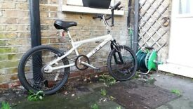 Silver bmx bicycle for sale Bargain at £25