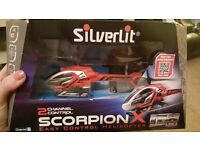 Scorpion X helicopter