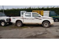 2011 Toyota Hilux left hand drive DC pick upNon registered ideal for export yes left hand drive