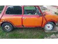 1990 Rover Mini Mayfair 998 project