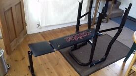 weight bench - sturdy and solid, but basic