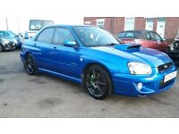 Subaru impreza 2004 breaking for spares due to rear end shunt. Most parts available.