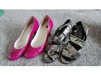 Office and Hogl heels Size 37/4
